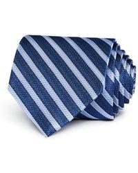 Bloomingdale's - Striped Silk Classic Tie - Lyst