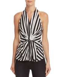 Bailey 44 - Sunshine Of Your Love Tie-front Top - Lyst