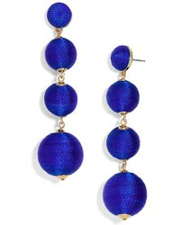 BaubleBar - Criselda Ball Drop Earrings - Lyst