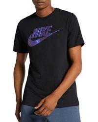 378fdfddc382 Lyst - Nike F.c. Swoosh Flag Graphic T-shirt in Black for Men