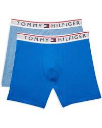ab0eace0cb69 Tommy Hilfiger 4 Pack Boxer Brief in Orange for Men - Lyst
