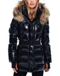 Sam. - Millennium Fur Trim Down Coat - Lyst