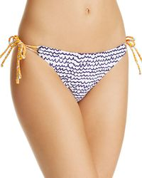 Echo - Fleur De La Mer String Bikini Bottom - Lyst