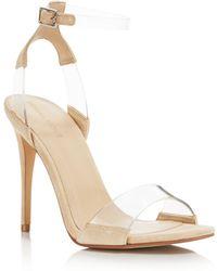 Kendall + Kylie - Women's Kenya Illusion High Heel Sandals - Lyst