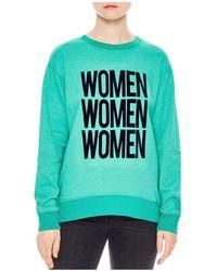 Sandro - Tulipe Women Graphic Sweatshirt - Lyst