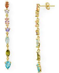 Argento Vivo - Rainbow Linear Drop Earrings - Lyst
