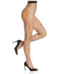 DKNY - Large Fishnet Tights - Lyst