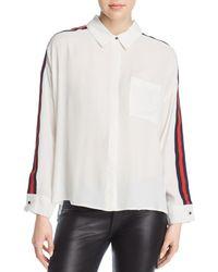 Velvet Heart - Sabella Ribbon-stripe Shirt - Lyst