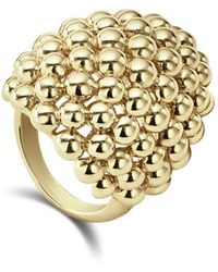 Lagos - 18k Caviar Gold Dome Statement Ring - Lyst