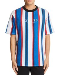 Guess - Go Sayer Striped Tee - Lyst