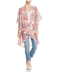 Status By Chenault - Floral Duster Kimono - Lyst