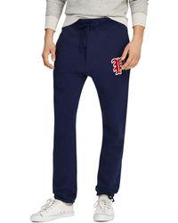 0f11eda3d324 Lyst - Polo Ralph Lauren Men s Fleece Jogger Pants in Blue for Men