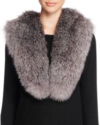 Surell - Fox Fur Stole Scarf - 100% Bloomingdale's Exclusive - Lyst