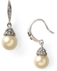 Carolee - Looking Glass Drop Earrings - Lyst