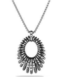 David Yurman - Tempo Necklace With Diamonds - Lyst