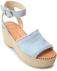 Dolce Vita - Women's Lesly Espadrille Platform Sandals - Lyst