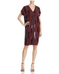 NIC+ZOE - Nic+zoe Dress Shimmer Dress - Lyst