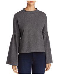 Vince Camuto | Bell Sleeve Sweatshirt | Lyst