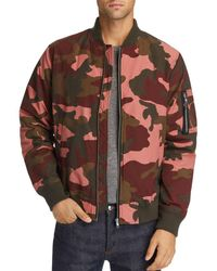 Wesc - Camouflage-print Bomber Jacket - Lyst