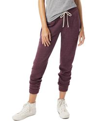 Alternative Apparel - Eco Fleece Jogger Trousers - Lyst