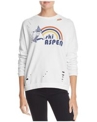 Michelle By Comune - Ski Aspen Distressed Sweatshirt - Lyst