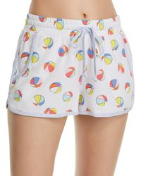 Jane & Bleecker New York - Beach Ball Pj Shorts - Lyst