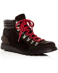 Sorel - Women's Ainsley Conquest Waterproof Suede Boots - Lyst