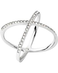 Michael Kors | Pavé X Ring | Lyst