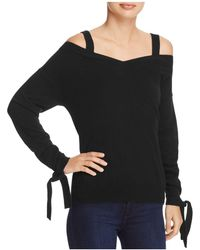 Theory - Cold-shoulder Cashmere Sweater - Lyst