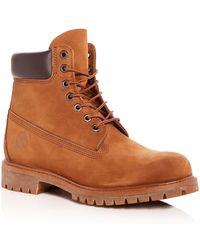Timberland - Men's Premiere Waterproof Nubuck Leather Hiking Boots - Lyst