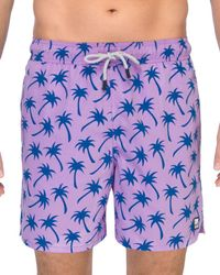 Tom & Teddy - Palms Swim Short - Lyst