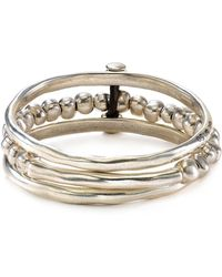 Uno De 50 - Another Round Bangle - Lyst