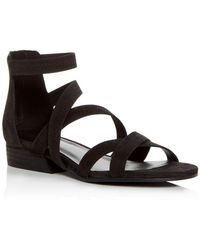 Eileen Fisher - Women's Eva Nubuck Leather Crisscross Sandals - Lyst