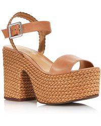 0d7b85933a8 Schutz - Women s Samantha Platform Sandals - Lyst