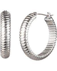 Ralph Lauren - Lauren Omega Hoop Earrings - Lyst