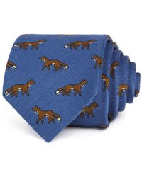 Drake's - Foxes Classic Tie - Lyst