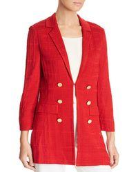 Misook - Textured Knit Jacket - Lyst