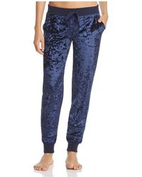 Pj Salvage - Crushed Velvet Jogger Trousers - Lyst