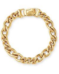 Bloomingdale's - 14k Yellow Gold Chain Link Bracelet - Lyst