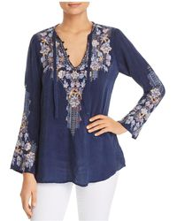 Johnny Was - Tanya Embroidered Tunic - Lyst