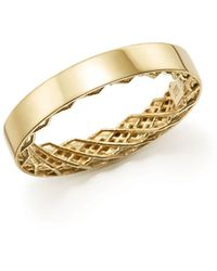 Roberto Coin - 18k Yellow Gold Symphony Golden Gate Ring - Lyst