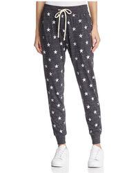 Alternative Apparel - Star Print Eco-jersey Jogger Trousers - Lyst
