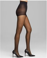 Calvin Klein | Matte Ultra Sheer Control Top Tights | Lyst