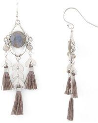 Chan Luu - Tassel Drop Earrings - Lyst
