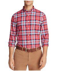 Vineyard Vines - Finback Plaid Long Sleeve Button-down Shirt - Lyst