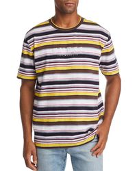 75aafa390cf6 Guess Riviera Striped Tee in Blue for Men - Lyst