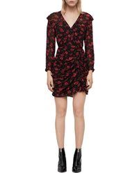 b11dcc7c626a AllSaints - Harlow Eira Floral Print Dress - Lyst