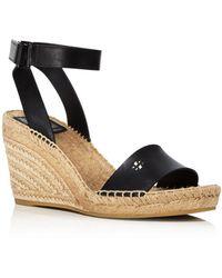 Tory Burch - Women's Bima Espadrille Platform Wedge Sandals - Lyst
