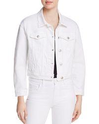 Joe's Jeans - Cropped Denim Jacket In Artemis - Lyst