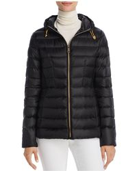 Vince Camuto - Quilted Lightweight Down Coat - Lyst